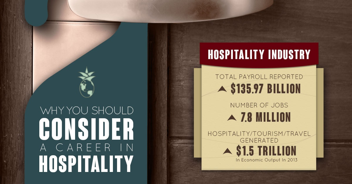 Why You Should Consider a Career in Hospitality [Infographic] | TISOH
